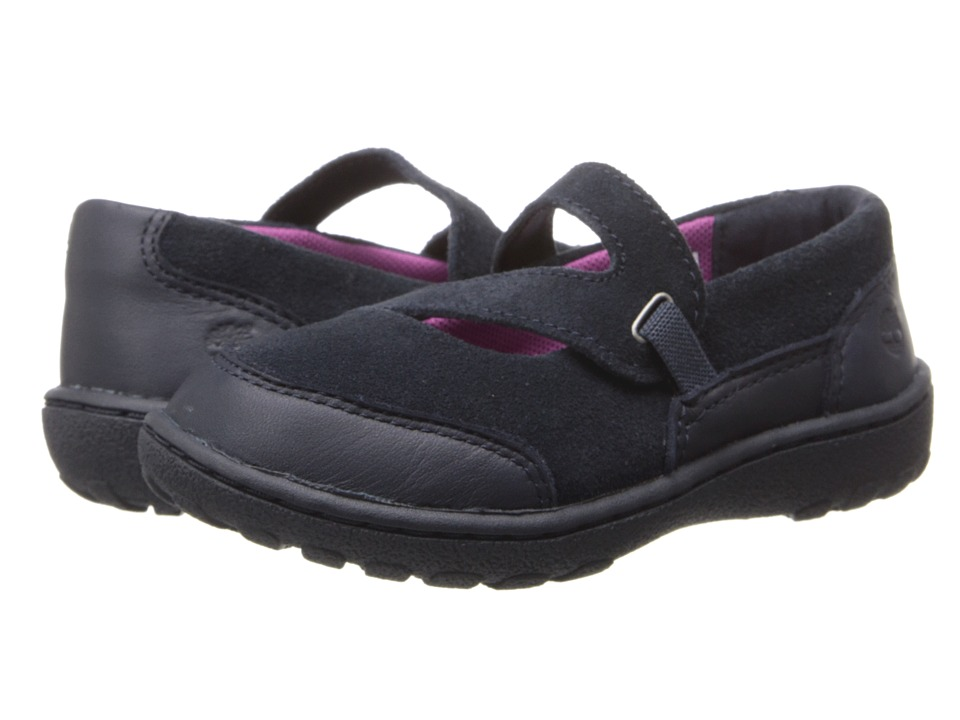 Timberland Kids - Earthkeepers Baileyville (Toddler/Little Kids) (Navy) Girls Shoes