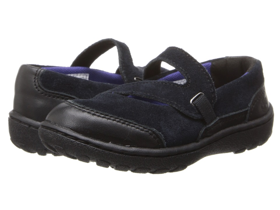 Timberland Kids - Earthkeepers Baileyville (Toddler/Little Kids) (Black) Girls Shoes