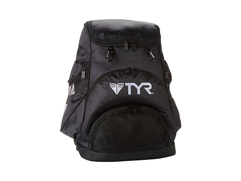 TYR - Alliance Team Backpack (Black/Black) Backpack Bags