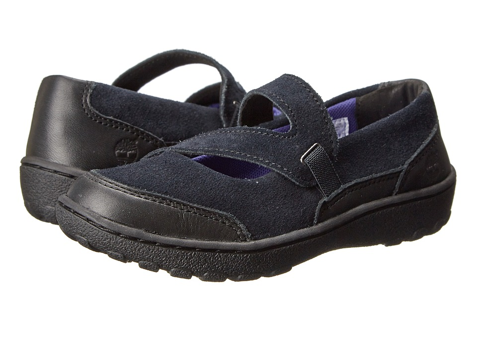 Timberland Kids - Earthkeepers Baileyville (Little Kids) (Black) Girls Shoes