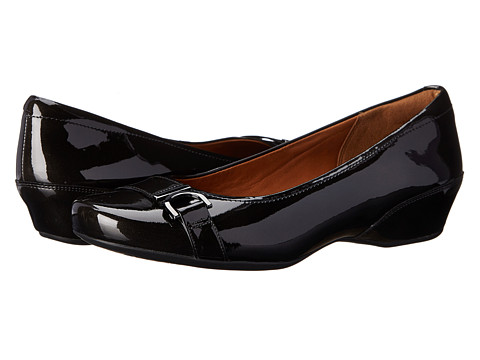 Clarks - Concert Band (Black Patent) Women's Shoes