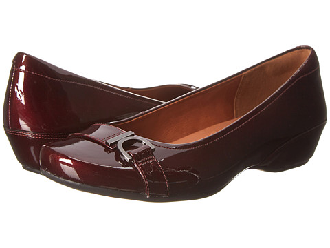 Clarks - Concert Band (Burgundy Patent) Women