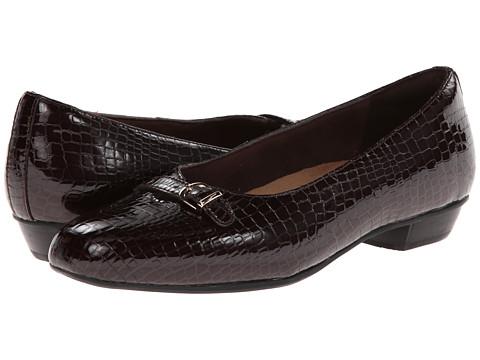 Clarks - Caswell Genoa (Burgundy Patent) Women