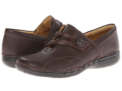 Clarks - Un.Esma (Brown Leather) Women