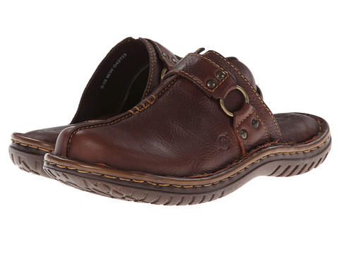 Born - Patrizia (Chocolate) Women's Clog/Mule Shoes