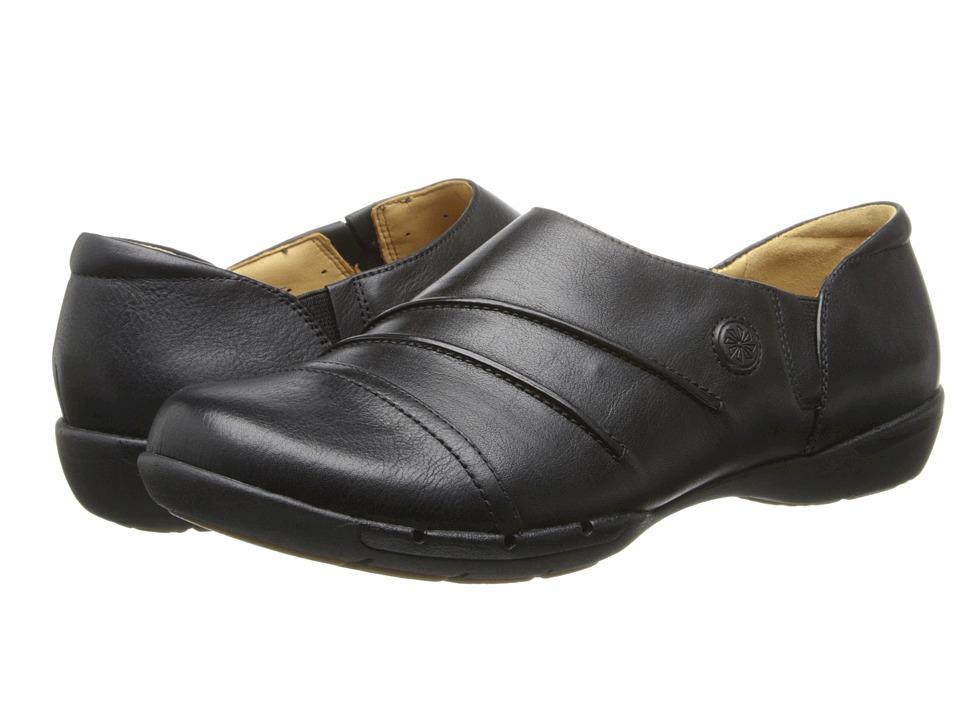 Clarks - Un.hila (Black Leather) Women's Shoes