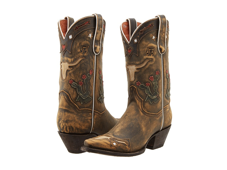 Dan Post - Cowboy Dreams (Tan Vintage) Cowboy Boots