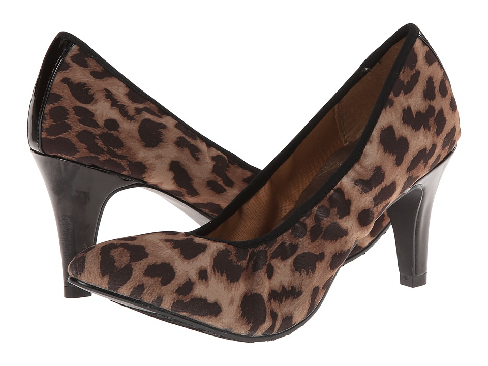 Soft Style - Rachyl (Leopard Fabric) Women's Shoes