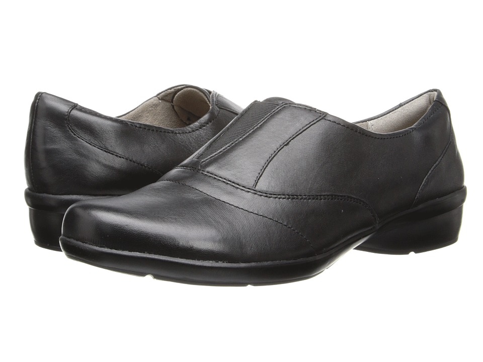 Naturalizer - Capade (Black Leather) Women's Shoes
