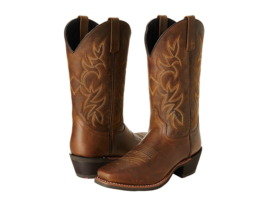 Laredo - Breakout (Tan Distressed) Cowboy Boots