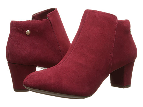 Hush Puppies - Corie Imagery (Dark Red Suede) Women's Shoes