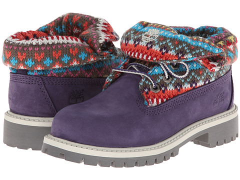 Timberland Kids - Roll - Top (Little Kid) (Purple/Multi) Girls Shoes