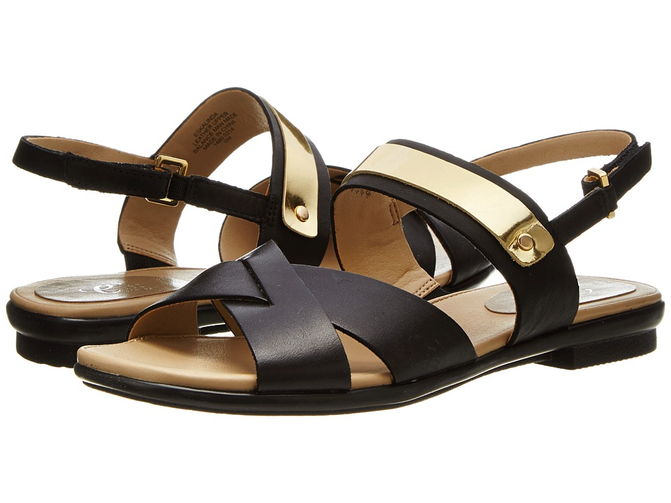 Easy Spirit - Kalinda (Black/Gold) Women