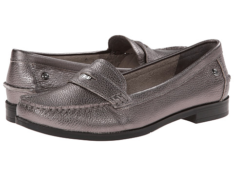 Hush Puppies - Iris Sloan (Silver Leather) Women's Shoes