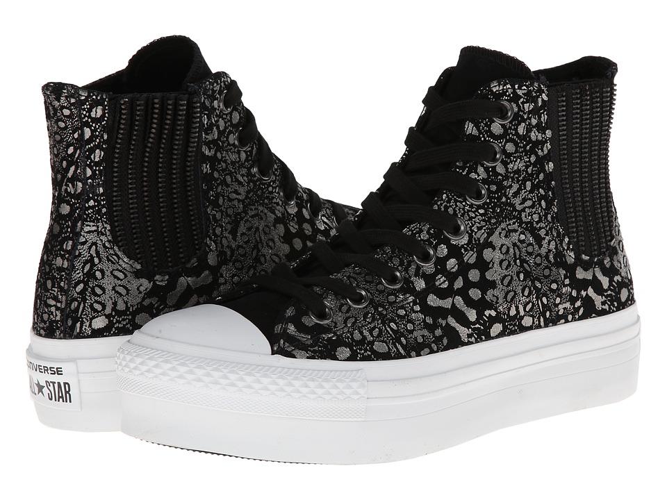 Converse - Chuck Taylor All Star Platform Chelsea (Black) Women's Shoes