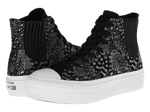 Converse - Chuck Taylor All Star Platform Chelsea (Black) Women's Shoes