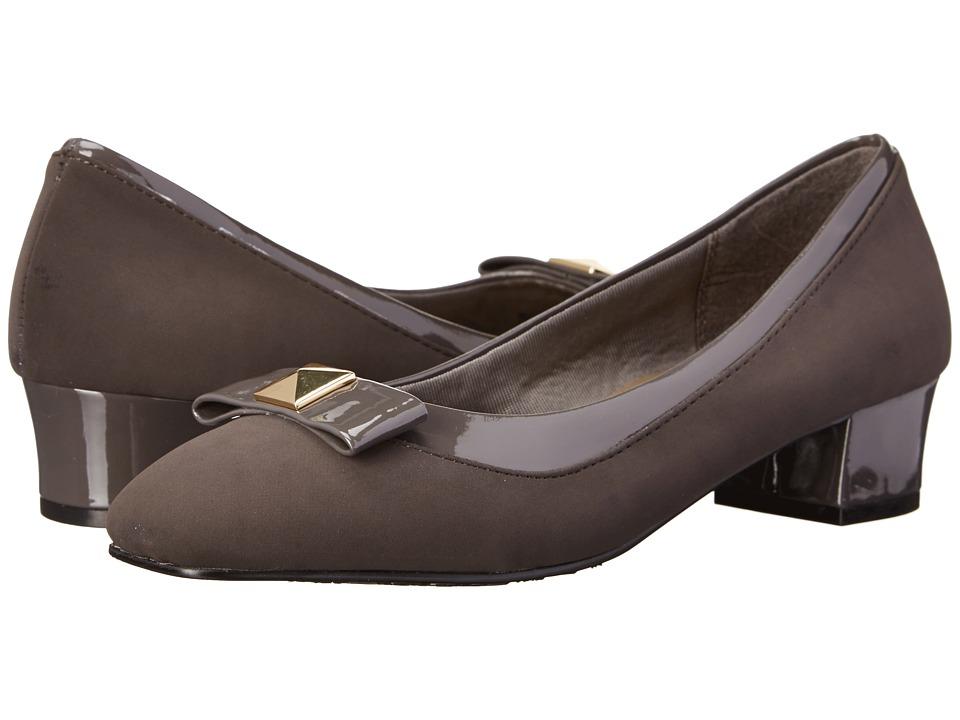 Soft Style - Santel (Dark Grey Lamy/Patent) Women's Shoes