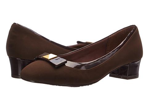 Soft Style - Santel (Dark Brown Lamy Patent) Women's Shoes