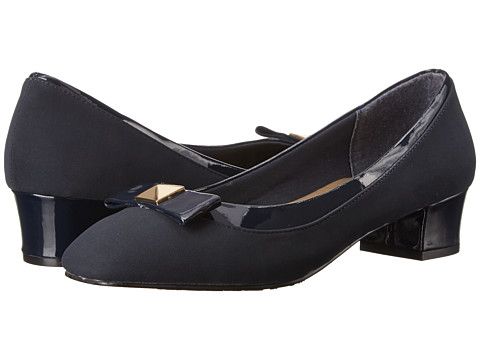 Soft Style - Santel (Navy Lamy/Patent) Women's Shoes