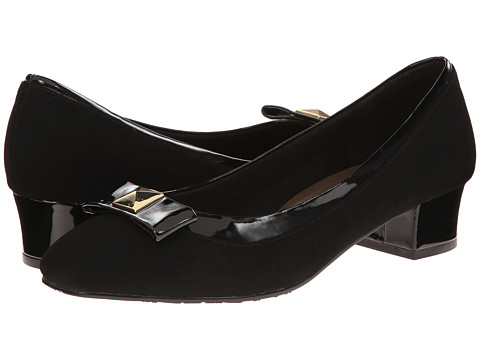 Soft Style - Santel (Black Lamy/Patent) Women