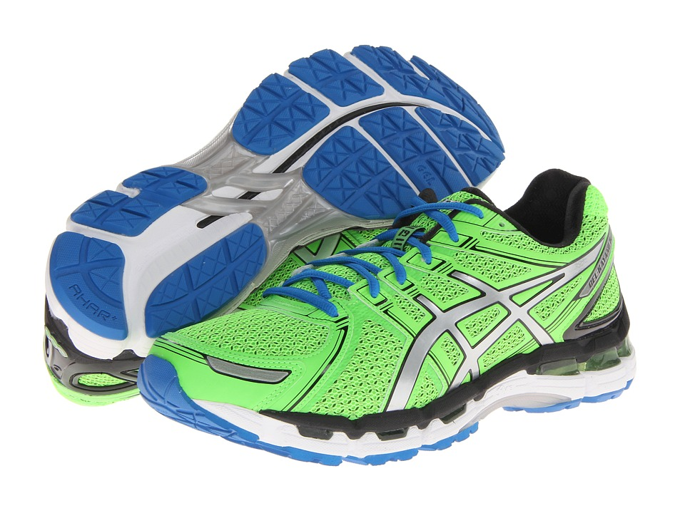 ASICS - GEL-Kayano 19 (Neon Green/Lightning) Men's Running Shoes