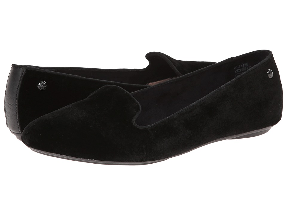 Hush Puppies - Flossie Chaste (Black Velvet) Women