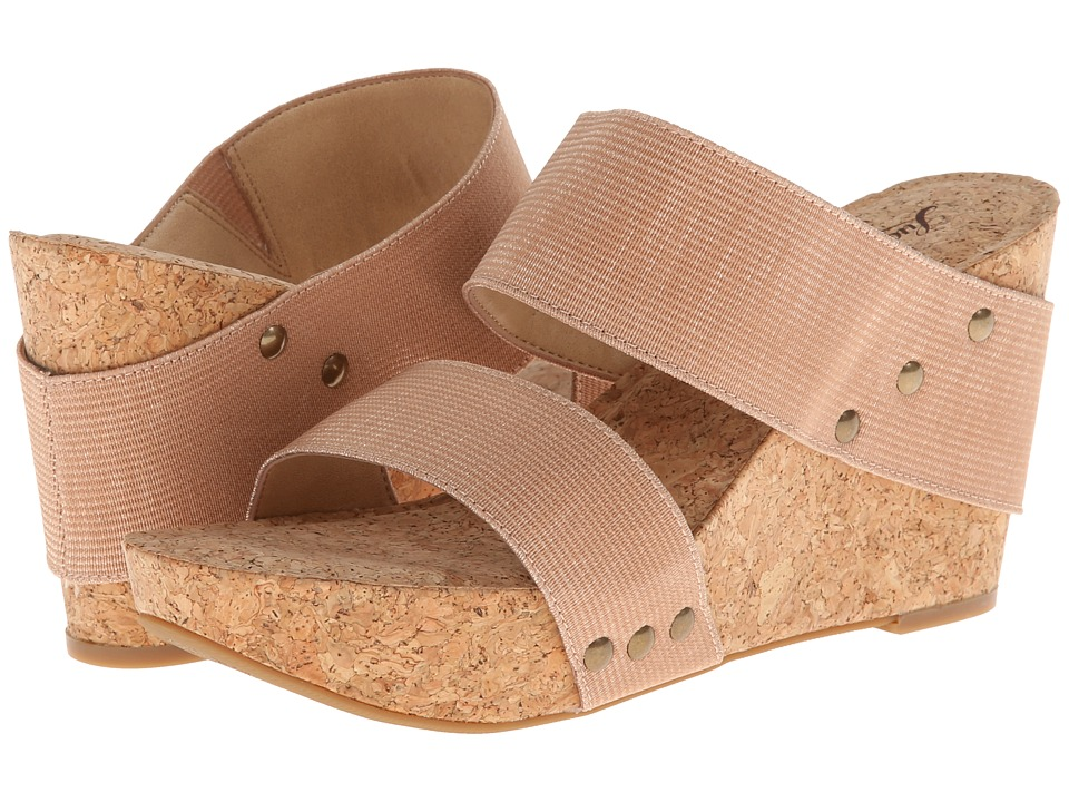 Lucky Brand - Magnolia 2 (Blush/Champagne) Women's Wedge Shoes