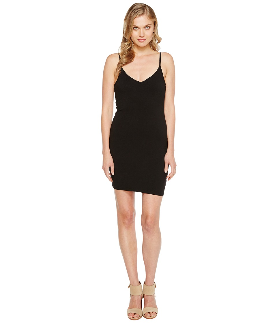 LAmade - V Neck Tank Dress (Black) Women's Dress