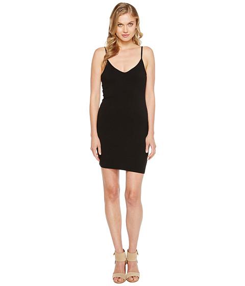 LAmade - V Neck Tank Dress (Black) Women's Dress
