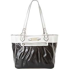 SALE! $29.99 - Save $59 on Franco Sarto Elizabeth Tote (Black White) Bags and Luggage - 66.30% OFF $89.00