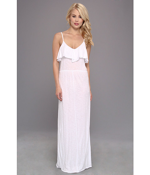 LAmade - Flutter Maxi Dress (White) Women's Dress