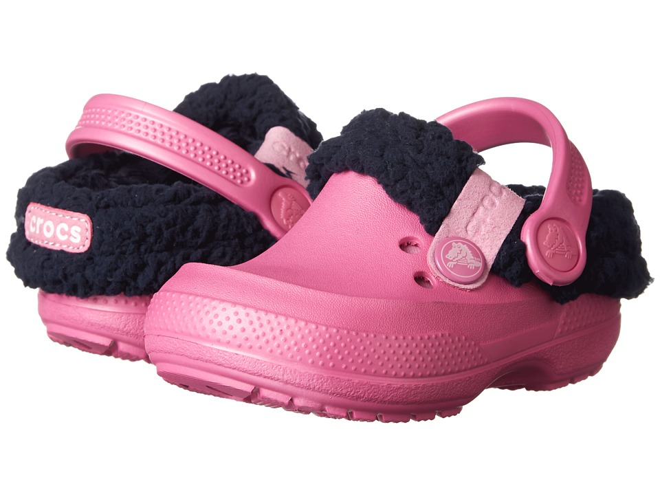 Crocs Kids - Blitzen II Kids (Toddler/Little Kid) (Party Pink/Nautical Navy) Girls Shoes