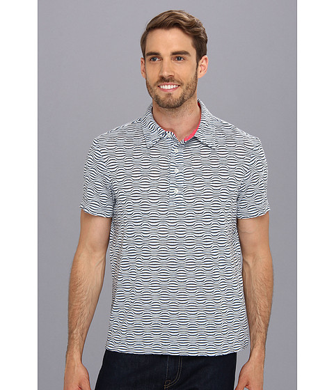 Mr.Turk - Lance Polo Shirt (Blue) Men's Short Sleeve Pullover