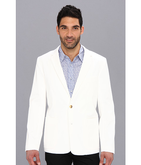 Mr.Turk - Solid Melvin Blazer (White) Men