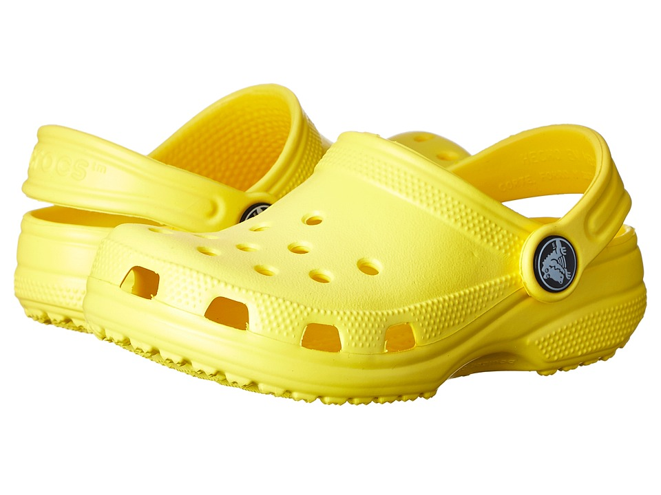Crocs Kids - Classic (Toddler/Little Kid/Big Kid) (Sunshine) Girls Shoes