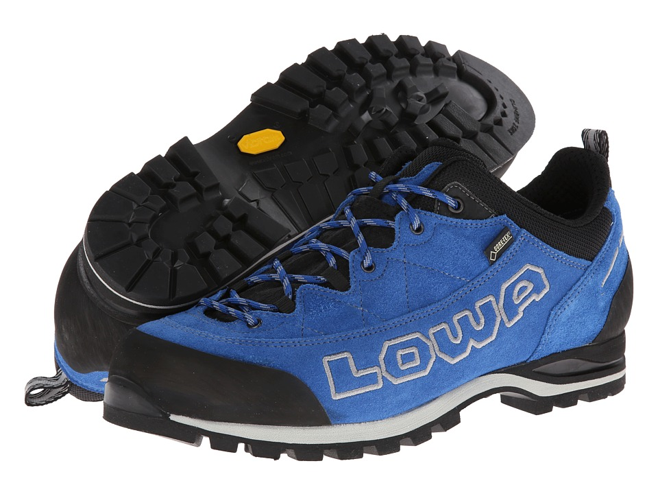 Lowa - Laurin GTX Lo (Blue) Men's Shoes