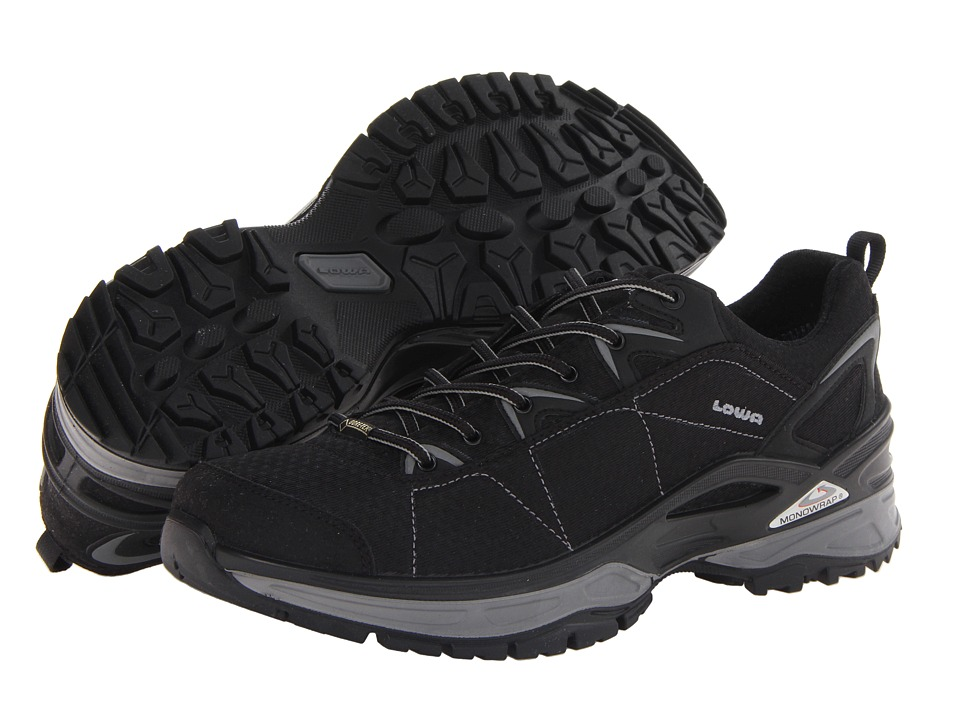 Lowa - Ferrox GTX Lo (Black/Grey) Men's Shoes