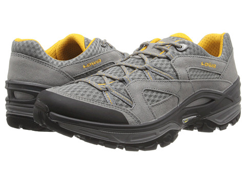 Lowa - Tempest Mesh (Grey/Curry) Men