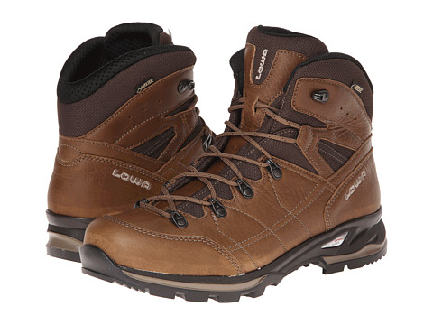 Lowa - Hudson GTX Mid WS (Taupe) Women's Hiking Boots