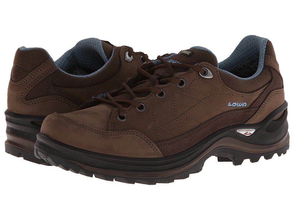 Lowa - Renegade III GTX Lo WS (Brown/Denim) Women's Shoes
