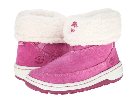 Timberland Kids - Winterfest Mid Pull-On Boot (Toddler/Little Kid) (Pink) Girls Shoes