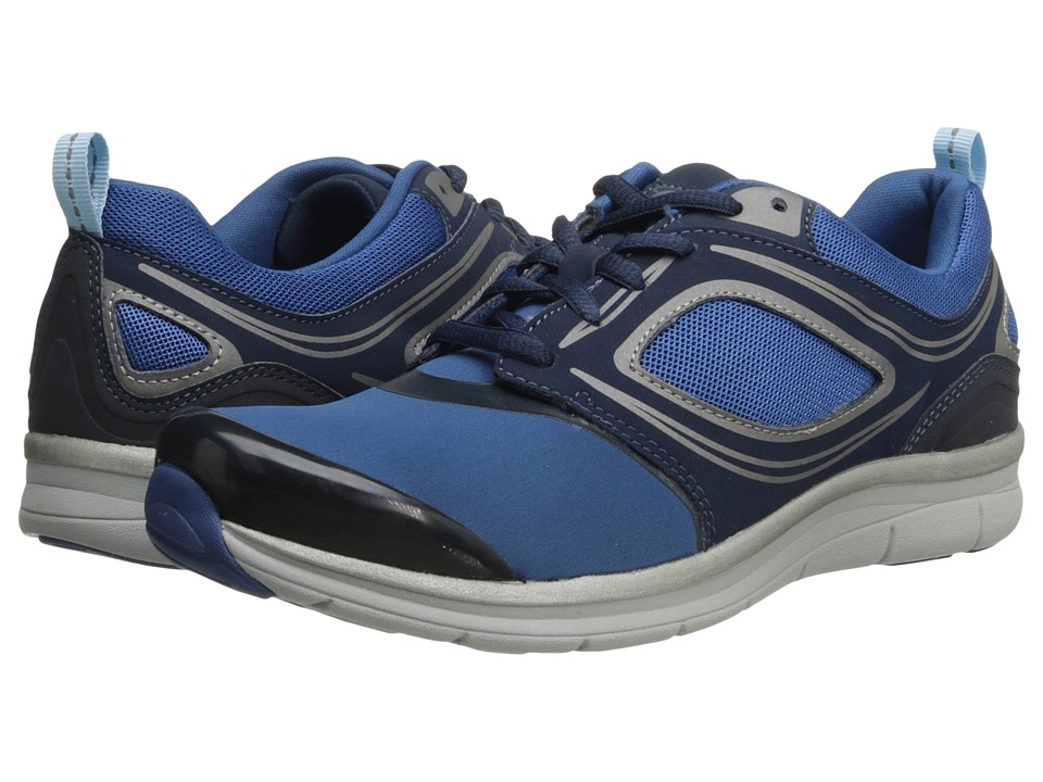 Easy Spirit - Stellar (Medium Blue Combo) Women's Lace up casual Shoes