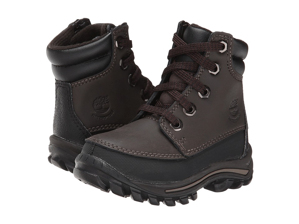 Timberland Kids - Chillberg Mid Waterproof Boot (Toddler/Little Kid) (Brown) Boys Shoes