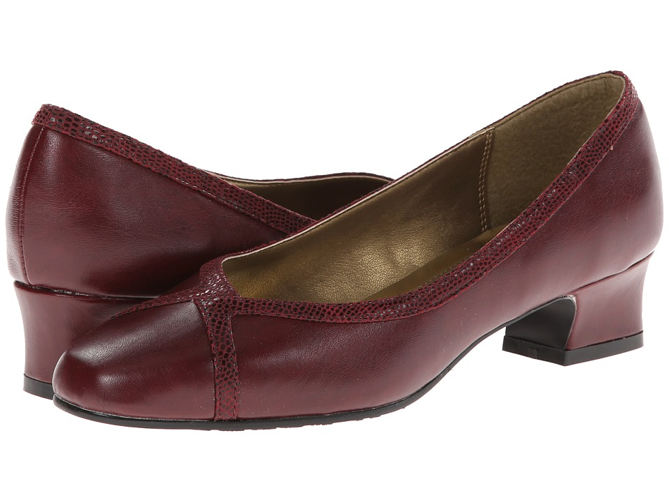 Soft Style - Lanie (Wine) Women's 1-2 inch heel Shoes