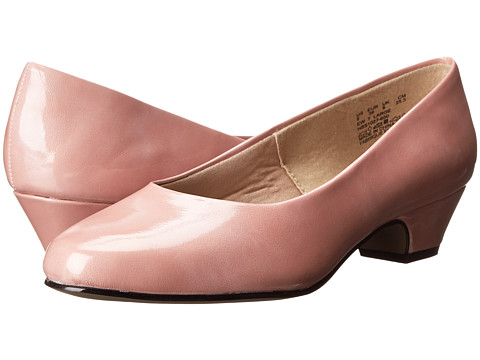 Soft Style - Angel II (Rose Tan Cloud Patent) Women's 1-2 inch heel Shoes