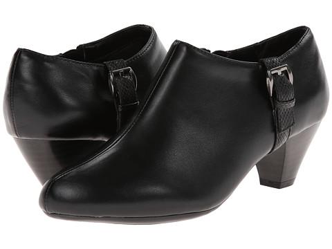 Soft Style - Glynis (Black/Black Snake) High Heels