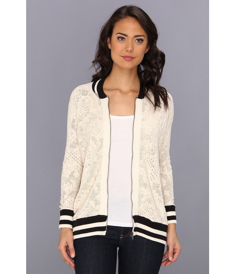 Free People - Flower Cardi (Ivory) Women