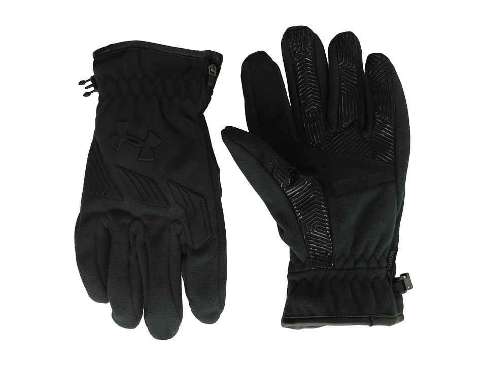 Under Armour - UA Coldgear(r) Infrared Convex Glove (Stealth Gray/Bolt Orange/Bon) Extreme Cold Weather Gloves