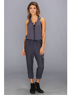 SALE! $66.99 - Save $81 on Free People Angelica Romper (Storm Blue) Apparel - 54.74% OFF $148.00