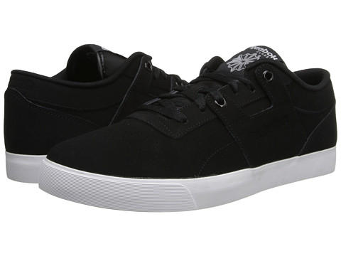 Reebok Lifestyle - Workout Low Clean FVS (Black/White) Men's Classic Shoes
